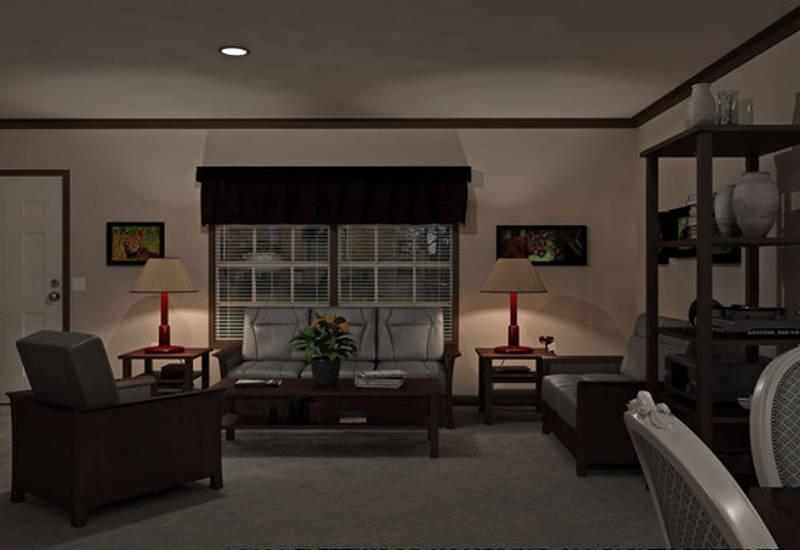 Fleetwood Berkshire 62 - BS32624B - Living Room