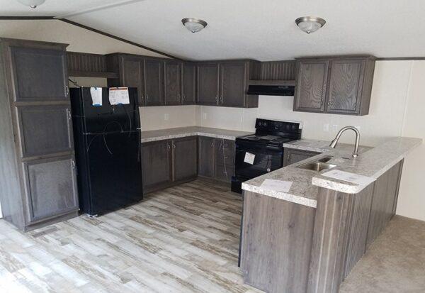Fleetwood Weston 16763N Mobile Home Kitchen