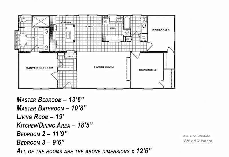 1 Bedroom 1 Bath Mobile Home additionally Wiring Diagram For Double Wide Mobile Home together with Fp 05 Tx Evolution SCWD76X3 as well Single Wide Mobile Home Floor Plans also Triple wide manufactured homes oregon. on skyline single wide mobile homes