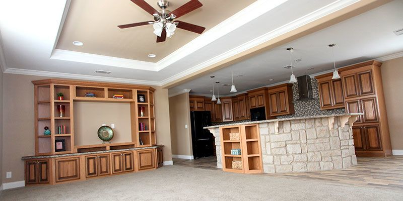 Picture Of Deciding Between Site-Built Homes and Manufactured Homes. Victoria, Texas, is at the Crossroads. Living Room