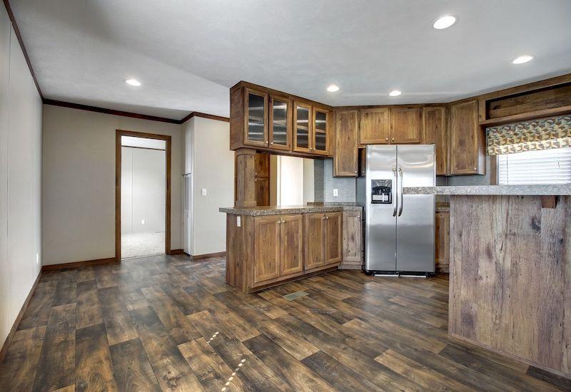 Bigfoot II Mobile Home Kitchen