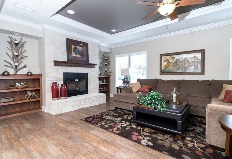 Tyler Home - Living Room