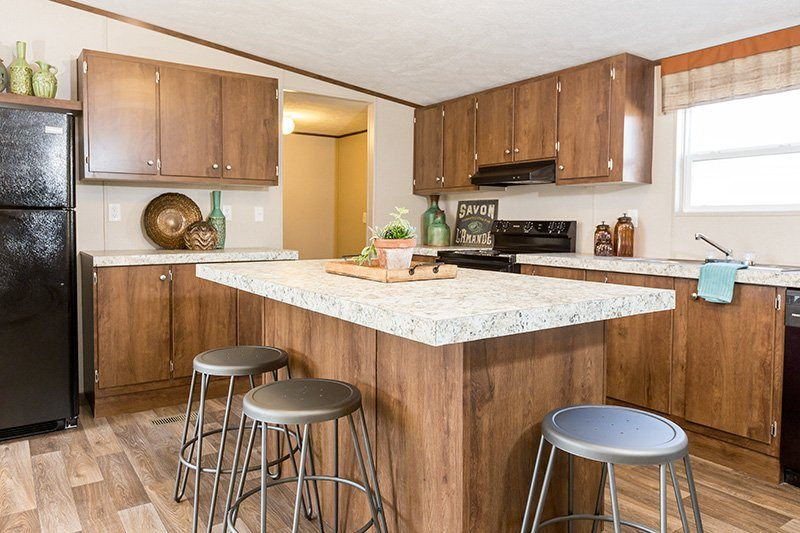 TruMH Liston / Marvel Mobile Home Kitchen