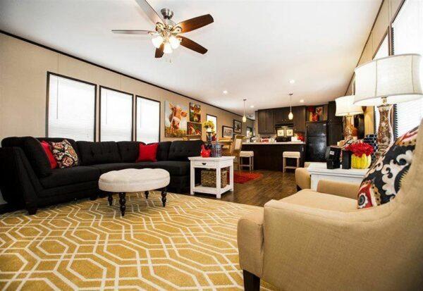 CMH Dragon DRG16723DH Mobile Home Living Room