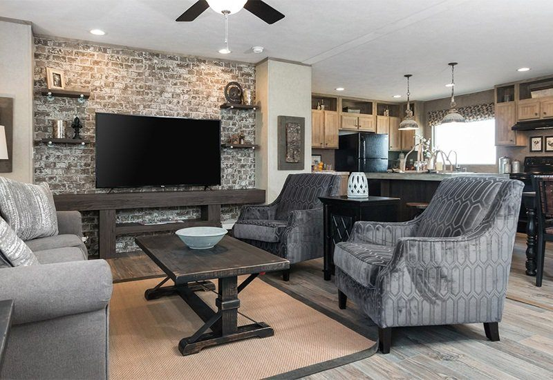 Real Deal Mobile Home Living Room
