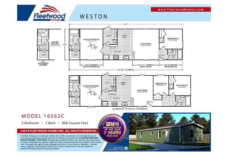 Fleetwood Weston 56 - WE16562C - FP